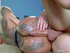 Sexo anal com loira tarada