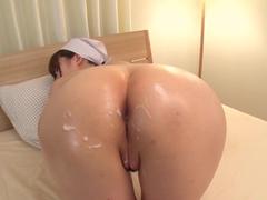 Japonesinha safada dando sua boceta apertada
